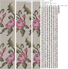 Circumference 22, repeat colour 2232 beads.