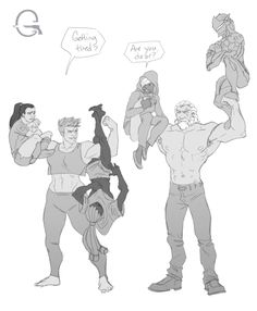 Overwatch Reinhardt and Zarya contest Overwatch Comic, Overwatch Memes, Overwatch Fan Art, Overwatch Genji, Character Concept, Character Art, Character Design, Widowmaker, Funny Photos