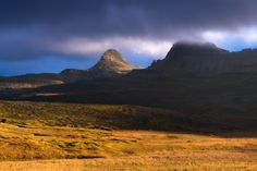 Sunset in the East Fjjords - Iceland - Soft arctic light covers the landscape in the remote East Fjords of Iceland.