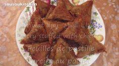 Moroccan Chicken Briwats/Briouates au poulet-Ramadan Spécial بريوات الدج...