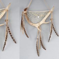 Deer Antler Dream Catcher Rustic Dreamcatcher by MetisArtsJolin Deer Antler Crafts, Antler Art, Deer Horns, Deer Skulls, Deco Cool, Native American Decor, Dream Catcher Craft, Diy And Crafts, Arts And Crafts