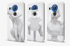 Google Teams Up With Jeff Koons For Limited-Edition Nexus Phone Cases   Discover more: http://designlimitededition.com/