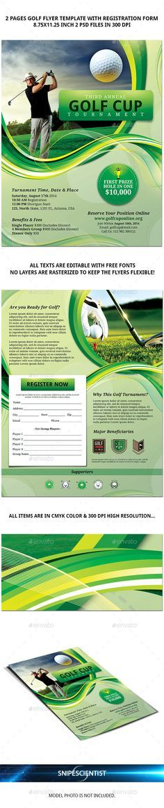 Puttin Charity Golf Flyer Template Flyer template, Fundraising - free fundraising flyer templates
