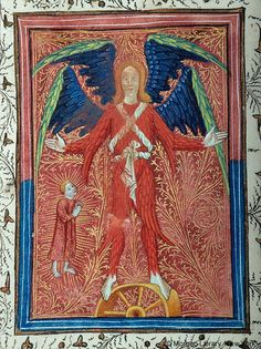 Book of Hours, MS fol. - Images from Medieval and Renaissance Manuscripts - The Morgan Library & Museum Medieval Life, Medieval Art, Medieval Manuscript, Illuminated Manuscript, Late Middle Ages, Book Of Hours, Religious Art, Early Modern Period, Renaissance