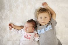 big brother new born sister picture ideas | Big Brother and Baby sister | Perth Newborn and Family Photography