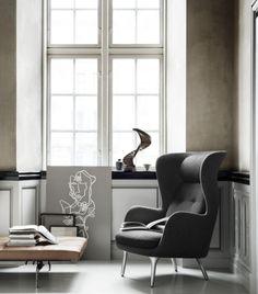Ro Chair by Fritz Hansen - sehr cooler Sessel
