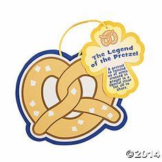 """The Legend of the Pretzel"" Lent Craft/Snack"