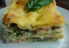 Lasagne ze szpinakiem i łososiem  #lasagne #gastrofaza #przepisy #przepis #kozakgotuje Spanakopita, Ethnic Recipes, Lasagna