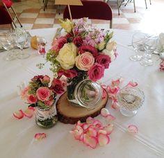 Duo de bouquets centre de table