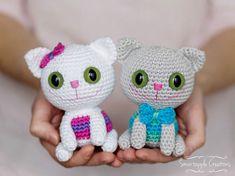 Котята амигуруми схемы вязания игрушек крючком