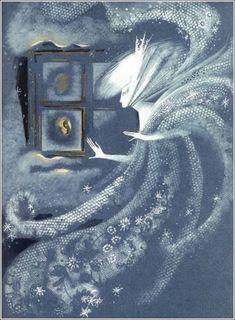Ледяная красота Снежной королевы: 40 волшебных образов, созданных известными иллюстраторами - Ярмарка Мастеров - ручная работа, handmade