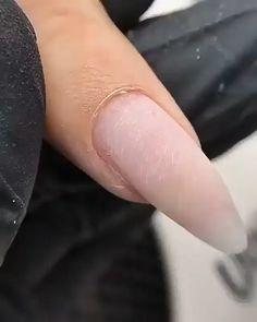 Glamour Nails, Classy Nails, Stylish Nails, Diy Acrylic Nails, Diy Nails, Dark Skin Nail Color, Nail Salon Design, Cherry Nails, Nail Techniques