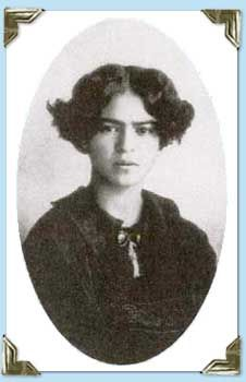 Frida Kahlo 1923 by Guillermo Kahlo