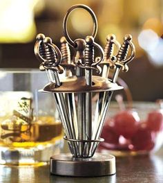 Game of Thrones Dinner Party :: Cocktail-Swords-Set-of-Six-3