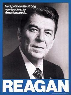 Reagan Campaign Poster 1980