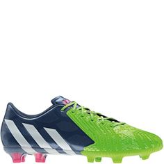 30c4ced68048 adidas Predator Instinct FG Rich Blue Core White Solar Green Firm Ground  Soccer Cleats - model M17644