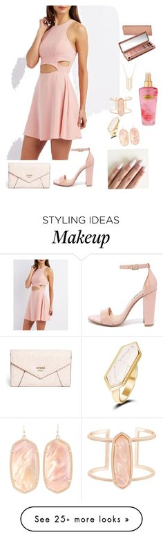 """""""Beauty"""" by leonita602 on Polyvore featuring Charlotte Russe, Steve Madden, GUESS, Kendra Scott, Gemelli, Urban Decay and Victoria's Secret"""