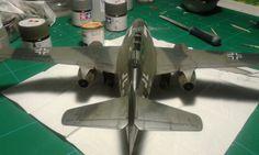Top rear Me262, Fighter Jets, Top, Crop Shirt, Shirts
