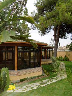 THERMOCHIP® TAH en la cubierta del restaurante Chambao Paradiso en Estepona (Málaga)   Thermochip   #panel #madera #estepona #interior #design #decoracion