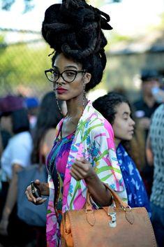 Stylish locs, dreds, and dreadlocks on women from around the world.