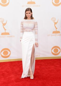 Kate Mara Wearing J Mendel - 2013 Primetime Emmy Awards