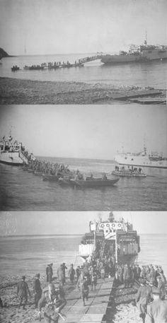 Italian soldiers landing in Crete 1941 - pin by Paolo Marzioli