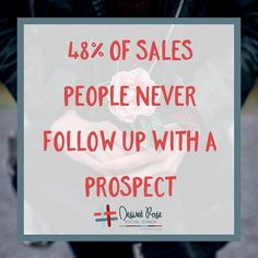 The fortune is in the followup. Looking for new customers is great but treating your existing ones and potential ones that are already in front of you is key! Did you know 10% of sales are made on the 4th contact. And are you ready for this 80% of sales are made on the 12th contact! Yep you read that right the 12th contact! Are you reconsidering that follow up now? How many contacts will you #followup with today? Set a goal and share with us below! #fortunebuilders #goaldiggers #salestips