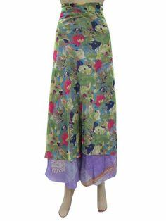 Sari Wrap Around Skirt Two Layer Green Blue Printed Beach Wrap Mogul Interior,http://www.amazon.com/dp/B00H5KJOO6/ref=cm_sw_r_pi_dp_r7NRsb19S54G8QJE