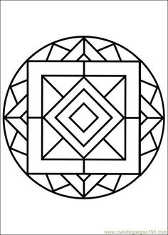 Mandala 82 Coloring Page For Kids And Adults From Other Pages Painting