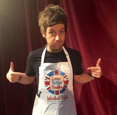 Chris Ramsey Supporting our Great British Brekkie campaign 2015