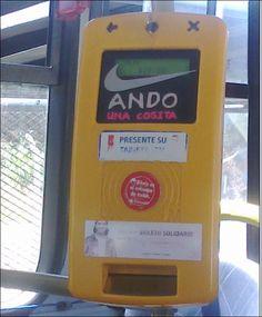 Según una máquina expendedora de boletos de Cutcsa, plancha se hace, no se nace. Gracias a la gran @andal13