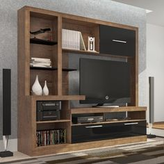 Estante Home Theater E236 em MDF R$944.20