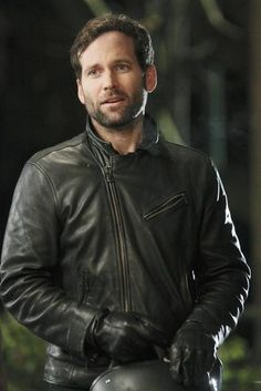 """August Booth (Eion Bailey) First met him in Covert Affairs as Ben Mercer..LOVE him in Once Upon a Time """"Typewriter wrapped in an enigma, wrapped in stubble."""""""