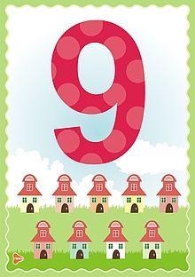 Ilustrații cu cifre și numărul 10 Learning Games For Kids, Preschool Learning Activities, Math For Kids, Counting For Kids, Infant Activities, Preschool Activities, Learning Colors, Flashcards For Toddlers, Alphabet For Toddlers