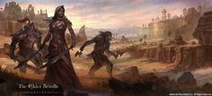 Visual Development | The Elder Scrolls Online Concept Art by Jeremy Fenske