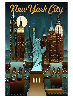vintage new york poster - vintage new york . vintage new york aesthetic . vintage new york aesthetic wallpaper . vintage new york photography . vintage new york apartment . vintage new york city . vintage new york poster . vintage new york fashion Vintage Advertisements, Vintage Ads, Vintage New York, New York City, City Poster, New York Poster, Photo Vintage, Poster Prints, Art Prints