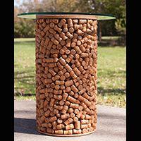 Wine Cork Wreath - Cork Wreath - Cork Bulletin Board - Call 866-264-6549