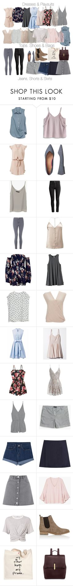 """""""Cami Inspired Spring/Summer Essentials"""" by fangsandfashion ❤ liked on Polyvore featuring Bobeau, Chicwish, Witchery, Gap, H&M, Miss Selfridge, River Island, RVCA, MANGO and Wallis"""
