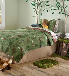 Woodland Friends Full Bedding Special | Collection Accessories. that rug!