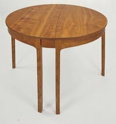 Round Table by Cork Cove Furniture. $4420.00. Maine furniture makers are among the best in the world. Contemporary Furniture Design Cherry Round Table. Exceptional quality, heirloom piece, made in Maine. Your choice of Walnut, Cherry, or Tiger Maple. Handmade One Piece At A Time. David Margonelli is one of Maine's best kept secrets. Where most upscale furniture on the market is made in production fashion, Margonelli's furniture is all Handmade, one at a time, in his modest 3-...