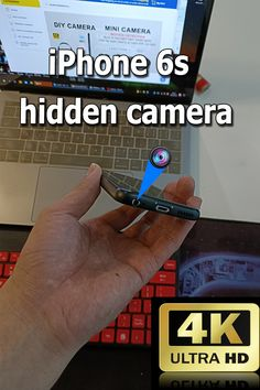 iPhone 6s phone camera, modified to the bottom of the headphone hole, does not affect the function and use of the phone, with the relevant black screen video software, you can 4k HD hidden camera, 2021 the clearest and most portable spy camera. #spy camera #hidden camera Mini Spy Camera, Hidden Camera, Black Screen, 4k Hd, Mobile Wallpaper, Videos, Software, Sky, Touch