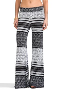 Blue Life Bell Bottom Pants in Aztec Stripe from REVOLVEclothing