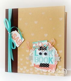 """Sale-A-Bration 2015, look book, SAB, Early Espresso Project Life Album 6""""x 8"""", Hearts and Stars Masks,  Little Letters Thinlits Dies, Hello You Thinlits"""