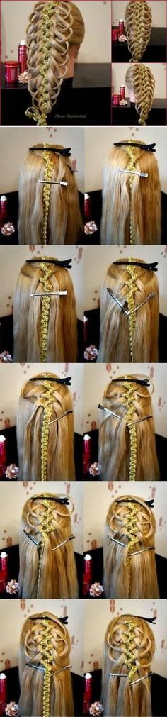Amazing Braided Hairstyle Tutorial