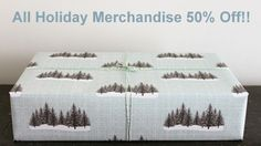 50% Off All Holiday Merchandise. ecofriendly gift wrap supplies and stationery, www.thegreendaisy.com