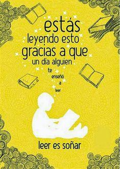 Soy Bibliotecario: Leer es soñar