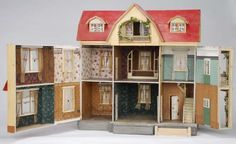 Moritz Gottschalk Red Roof Dollhouse Model #5193