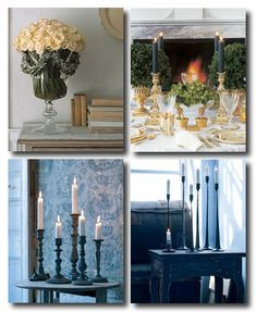 Swedish Holiday Decorating Ideas, Swedish Interiors, Gustavian Style, Nordic Style Swedish Decorating