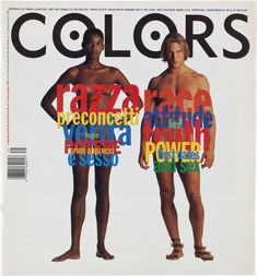 Race | Magazines | COLORS Magazine, issue 4 (Tibor Kalman, Editor-in-Chief)