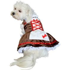 Beer Girl Dog Costume by Anit Accessories